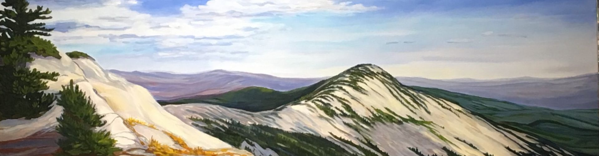 Big White painting by Linda Lovisa