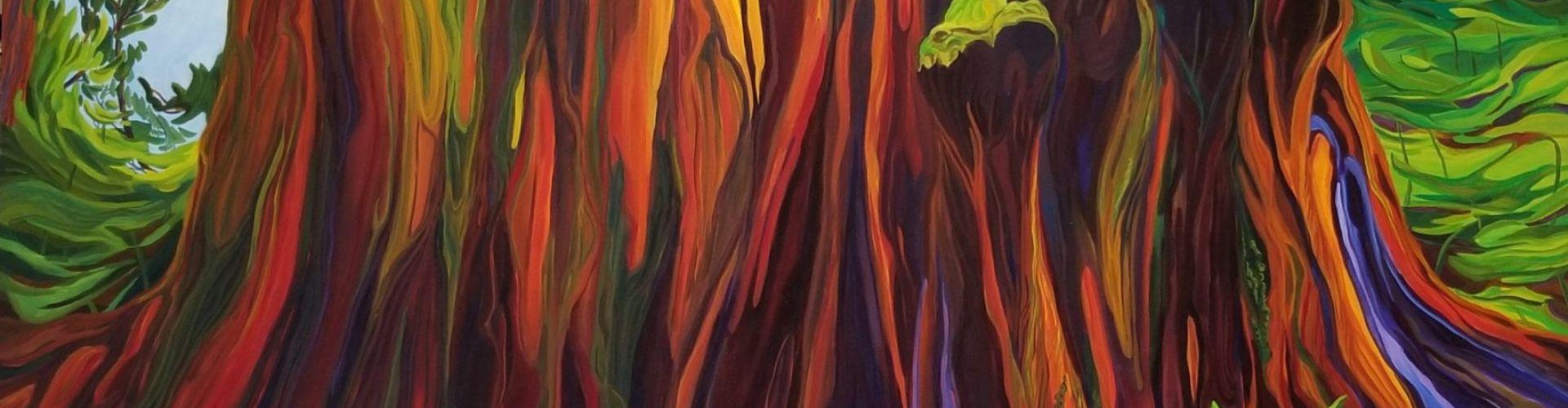 Majestic Wonder painting by Linda Lovisa