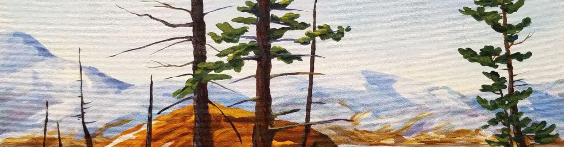 The Survivors painting by Linda Lovisa