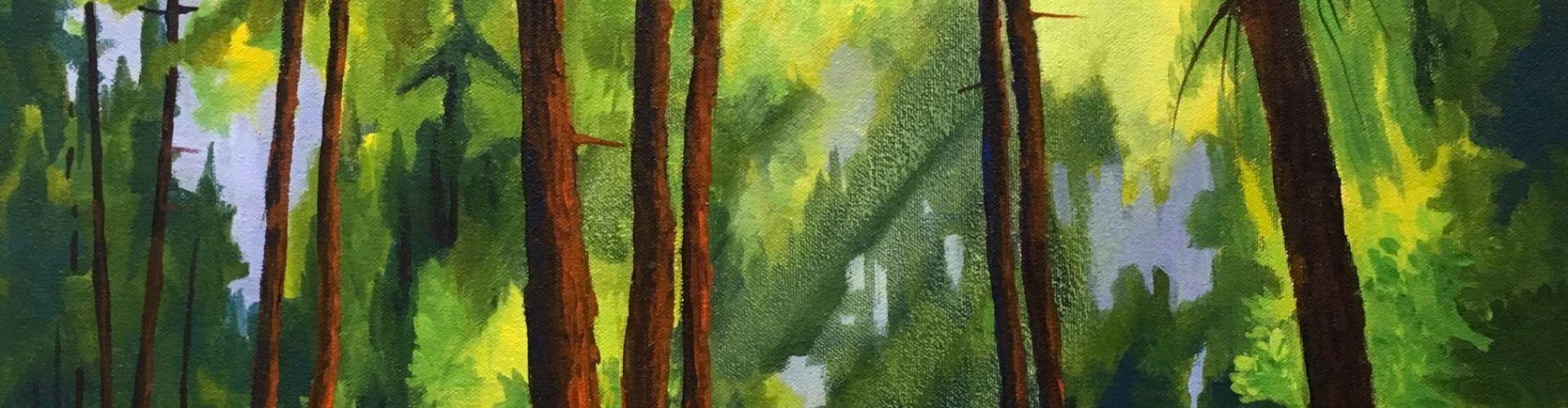 Dreamland painting by Linda Lovisa