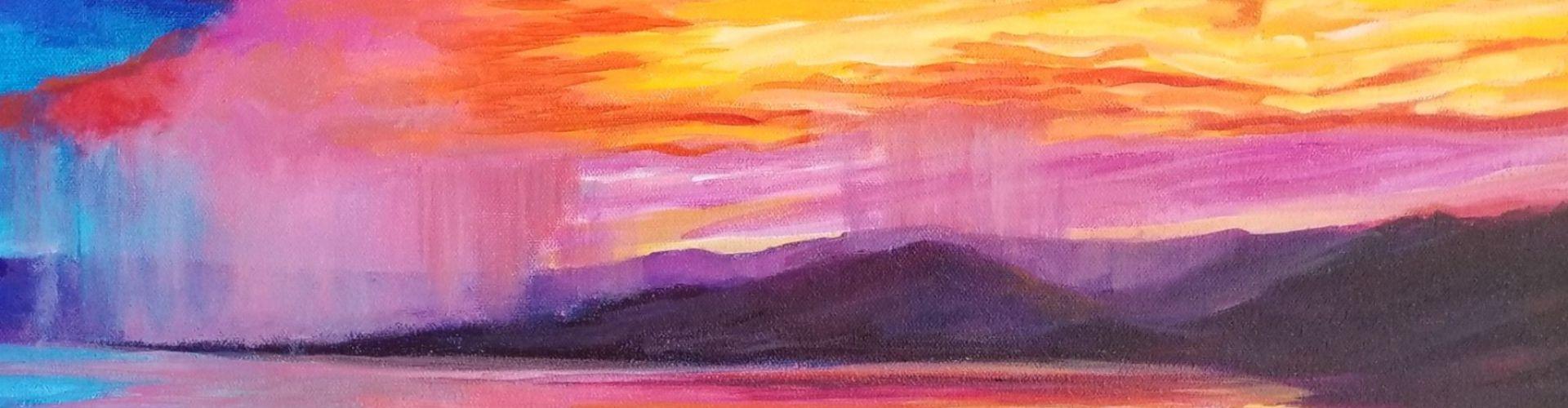 The Night Show painting by Linda Lovisa